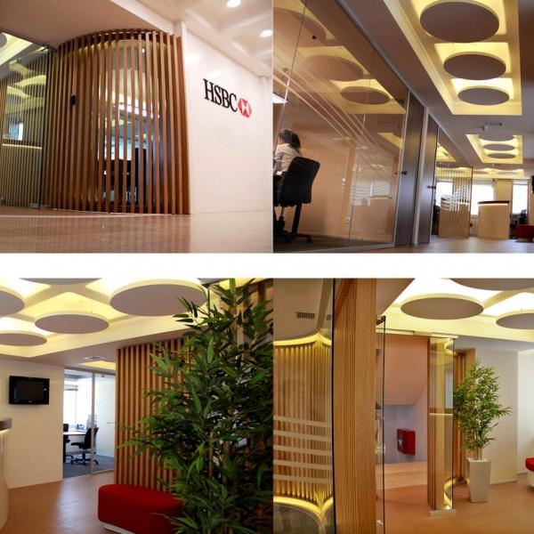 HSBC Branches Interior Design, 2003-Cont.